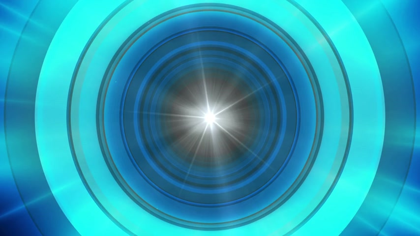 lichtkrant : Abstract Technology Ride circles background Stockvideo