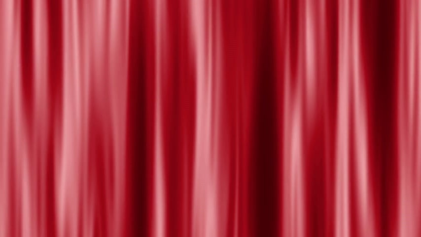 velvet : Abstract background animation with moving lines as curtain texture Stock Footage