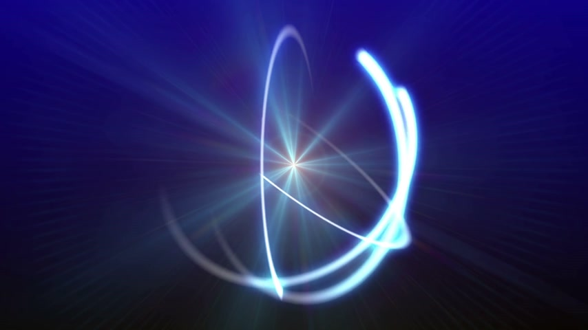 атомный : atom orbit ray light abstract