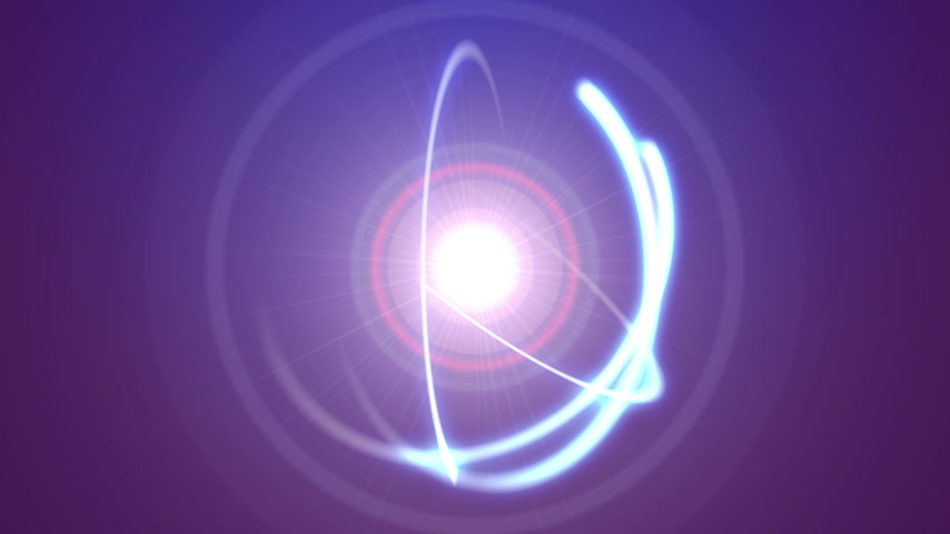 atomový : atom orbit ray light abstract