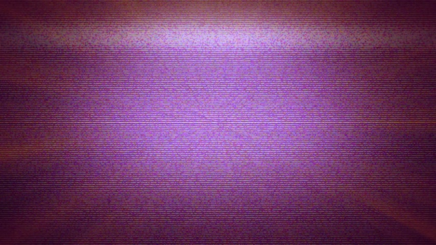 old television : tv noise, Abstract digital glitch art animation effect Stock Footage