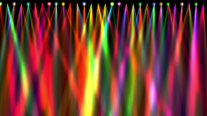 piece vide : stage light colorful abstract 4k
