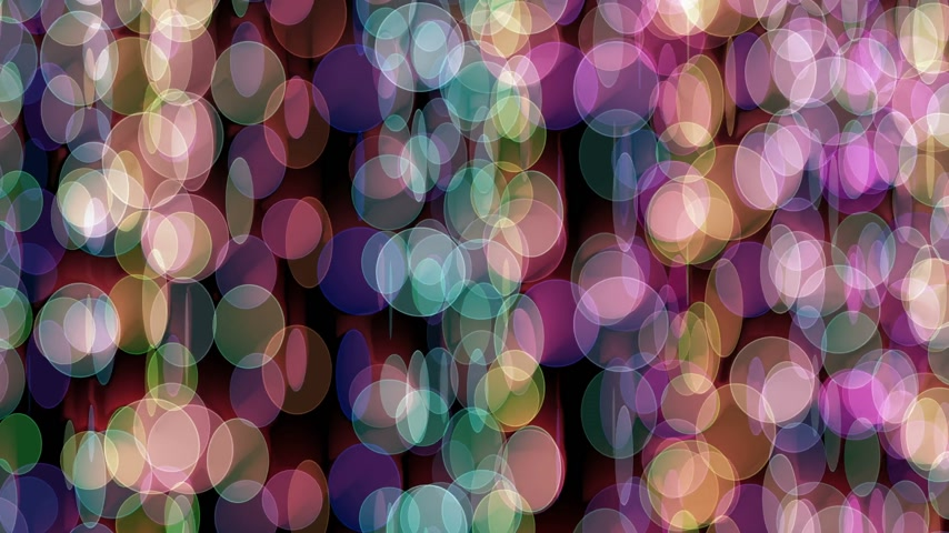 doted : curtain color circles abstract background Stock Footage