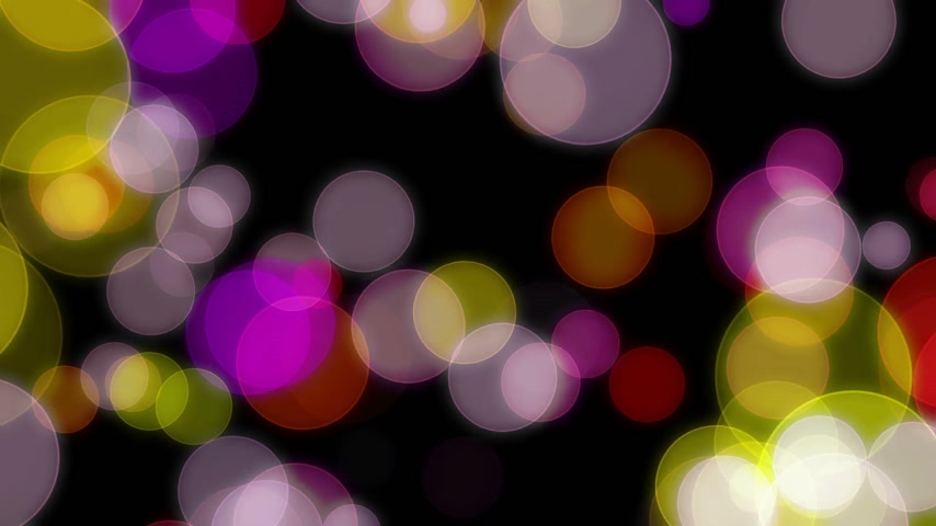 beauty spot : circles bokeh background abstract motion