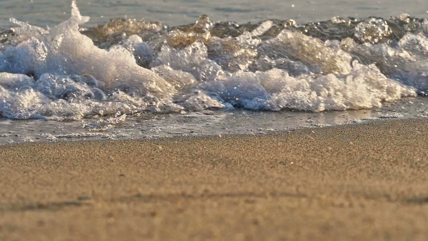 seixo : beach wave macro slow motion 180fps