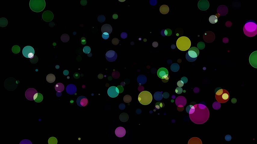beauty spot : circles bokeh background light abstract motion