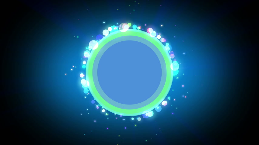 circles rings template particle abstract loop motion Wideo