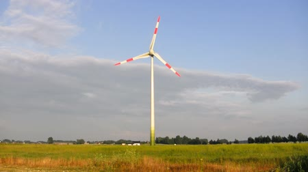 türbin : wind turbine Stok Video