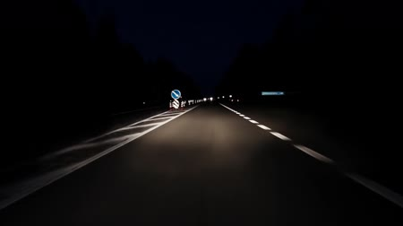 honit : Driving on night road