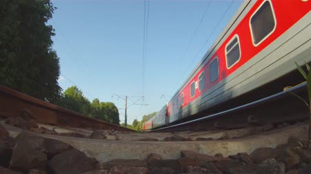 vasúti : train, view from below