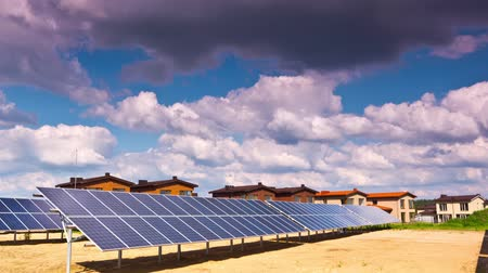 çatılar : solar panels and modern village