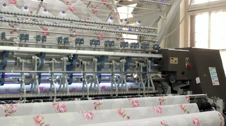 grzejnik : nonwoven sewing blanket machine for pillow product manufacturing in factory