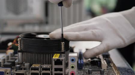 полупроводник : Repair of electronic components, technology, motherboard connectors
