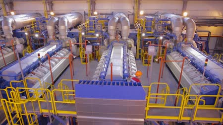 complex system : The gas turbine in a rails factory