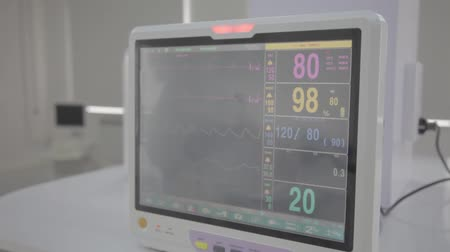 ultrasound scan : Medical equipment. Ultrasound machine in a modern operating laboratory.