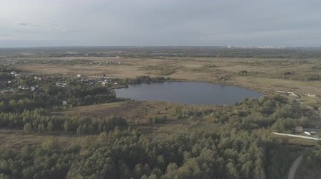 Flying up to Yakushinsky lake. Russian pezazh in the Vladimir region. Dostupné videozáznamy