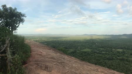 Sigiriya, Sri Lanka, part of the mountain and the horizon 4K 動画素材