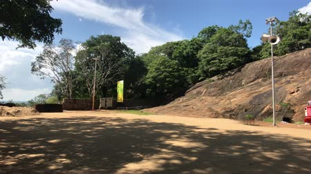 Mihintale, Sri Lanka, road at the foot of the mountain 4K