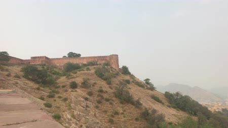 jaigarh : Jaipur, India - View of the fortress from afar part 20 4K