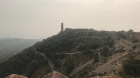 jaigarh : Jaipur, India - View of the fortress from afar part 14 4K