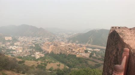 âmbar : Jaipur, India - View of the fortress from afar part 13 4K Vídeos