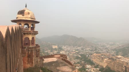 âmbar : Jaipur, India - View of the fortress from afar part 4 4K