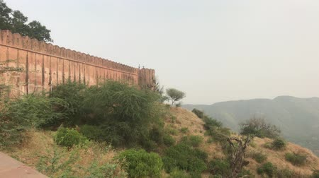 jaigarh : Jaipur, India - View of the fortress from afar part 15 4K
