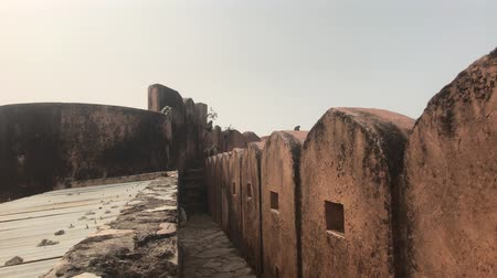 slum : Jaipur, India - View of the old fortress from the inside part 3 4K