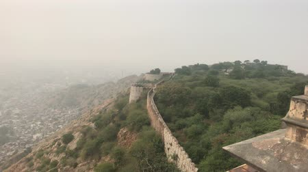 arrabaldes : Jaipur, India - View from above the old historic fortress part 19 4K