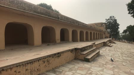 jaigarh : Jaipur, India - The living rooms of the old fortress part 2 4K
