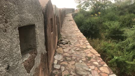 jaigarh : Jaipur, India - defensive structures on a high mountain part 14 4K