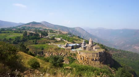 oltář : Tatev Monastery Breathtaking Picturesque Panorama View in Summer