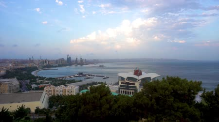 baku : Baku Scenic Afternoon City View of the Coastal Districts
