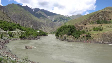 gorno : Kulob to Qalai Khumb on the Pamir Highway along the Panj River