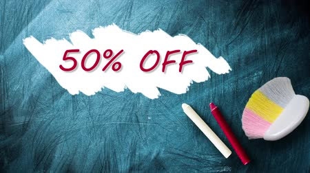 festett : 50% promotion discount offer animation