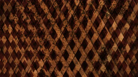 abstract wooden shapes background in motion Стоковые видеозаписи