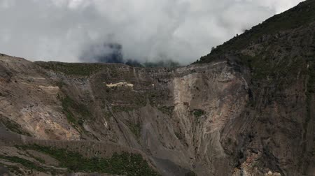 Crater of Irazu volcano