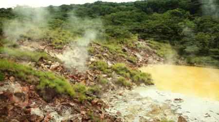 Hot mud pool in Rincon de la Vieja National Park