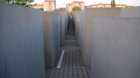 genocide : Berlin, Germany 15 May 2018: historical objects, The Memorial to the Murdered Jews of Europe in Berlin, 15 May 2018.