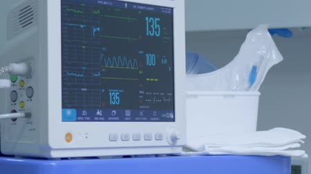 narcosis : medical devices, into dental clinic there is modern technique for conducting an operation under anesthesia of patient with diseases of oral cavity