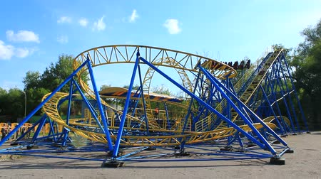 adrenalin : attraction small roller-coaster in Ukraine