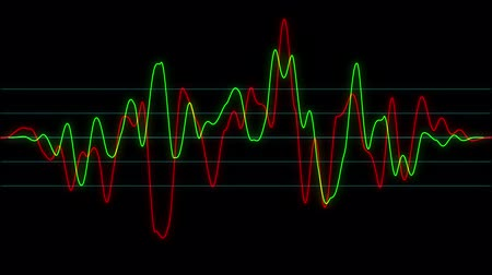rock music : Background with abstract animated sound graph.