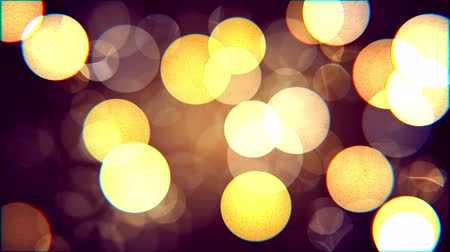 Abstract bokeh background with distortion effects. Filmati Stock