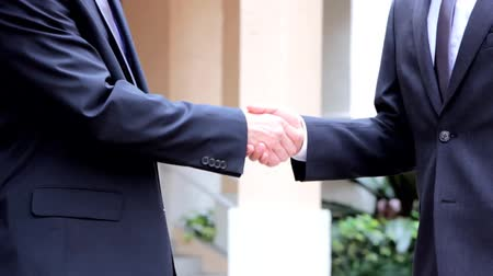 odzież : Two business people handshake