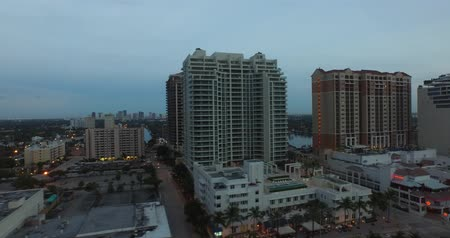 Fort lauderdale buildings and architecture Wideo