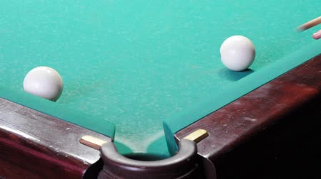 ídolo : Series of pool tricks Stock Footage