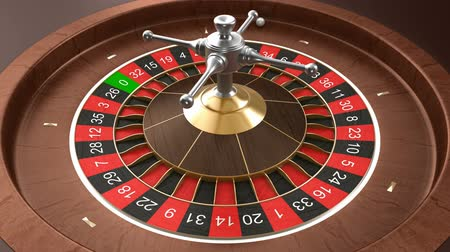 ruleta : Casino ruleta bucle Archivo de Video