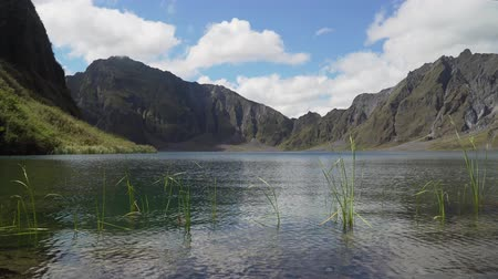mt : Crater lake volcano Pinatubo among the mountains, Philippines, Luzon. Beautiful landscape at Pinatubo mountain crater lake. Travel concept