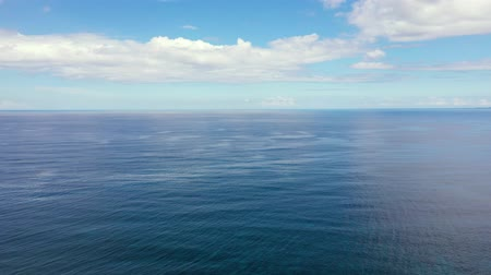 bulutluluk : Seascape by day. Sea and sky with clouds in calm weather.