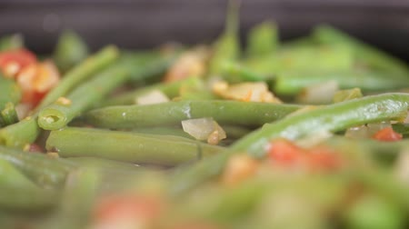 asparagus beans stew with vegetables. stew with asparagus beans